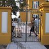 学校の門扉
