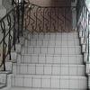 ロートアイアンによるリピートパターンの装飾手摺①