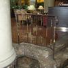 ロートアイアンによる階段の装飾手摺⑨