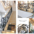 ヨーロッパクラッシクスタイルの階段製作