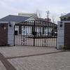 施設の大型門扉①