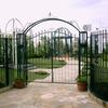 ガーデン風のアプローチのある門扉②