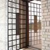 シンプルなデザインのロートアイアンの住宅の門扉④