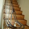 ロートアイアンによる階段の装飾手摺⑦