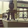 中二階部のロートアイアンの手摺り装飾②