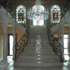 シンメトリックな豪華な装飾階段