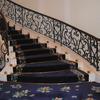 ロートアイアンの曲面階段手摺