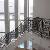 ロートアイアンによる階段の装飾手摺⑫