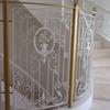 エレガンスな雰囲気の白色の階段手摺④