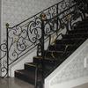 ロートアイアンによる階段の装飾手摺⑯