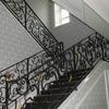 ロートアイアンによる階段の装飾手摺⑰