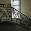 Mホテルの曲面階段のオリジナルなデザインの装飾手摺①