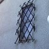 ロートアイアンによる窓ガードグリル①