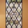 室内からも楽しめるロートアイアンによる装飾グリル①
