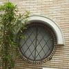 ロートアイアンによる窓ガードグリル④