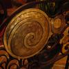 ロートアイアンによるパテーションの装飾③