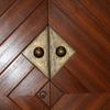 木製ドアの押し手③