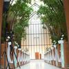 ロートアイアンによる壮大な式場ドームの壁面エレメント①