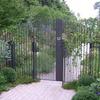 ガーデンの門扉②