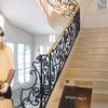 ヨーロッパクラッシクスタイルの階段1